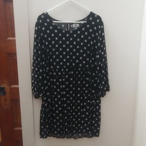 Old Navy babydoll mini dress